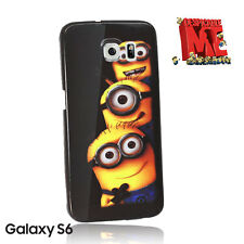 Despicable Me Minions Case Back Cover For Samsung Galaxy S6 +SP