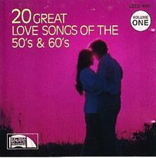 Kuschel / Romance Compilation : 20 Great Love Songs Of The 50s & 60s Vol. 1 CD