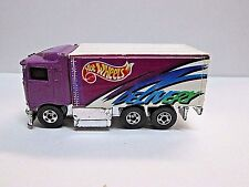 Hot Wheels 1994 Hiway Hauler Purple Delivery Lite Play C7+ to C8+ Loose