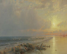 Sunset On The New Jersey Coast William Trost    24'  CANVAS
