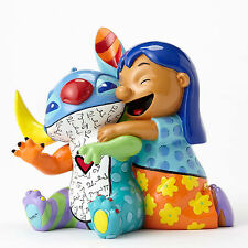 ✿ DISNEY Romero Britto Figurine Stitch and Lilo