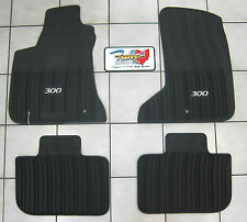 2011-2016 Chrysler 300 AWD All Weather Rubber Slush Mats Floor Mats Mopar OEM