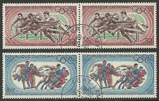 Ciad Tchad - 1968 - C7 - Olympic Games Mexico - Sport - Set Cpl - Used