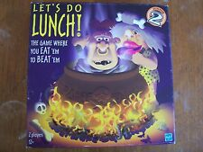 Let's Do Lunch The Game Where You Eat 'Em To Beat 'Em 2000 Complete