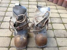 Soviet Russian NAVY diving boots.  Diving helmet