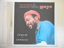 VERY BEST OF MARVIN GAYE - FRENCH PROMO ONLY ! || CD + DVD LIVE MONTREUX 1980