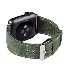 Apple Watch band, FUTLEX 38 / 42 mm Genuine Heritage Leather Strap