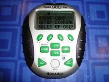 Digital GOLF Pro Keychain Electronic Handheld Travel Game 4 PlayerScore Keeping