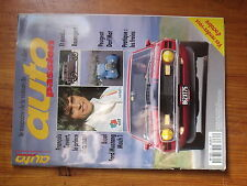 $$w Revue auto Passion N°85 Francois Cevert  Rosengart  Ford Mustang Mach 1