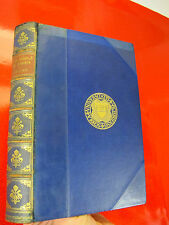 THE RIDDLE OF ARABIA Leather Prize Binding ADMIRAL Coat of Arms VTG Middle East