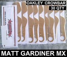 30 Stück Ohne Tränen passend für OAKLEY CROWBAR MOTOCROSS MX BRILLE