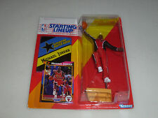 NEW STARTING LINEUP MICHAEL AIR JORDAN CARDED FIGURE W POSTER CARD KENNER 1992