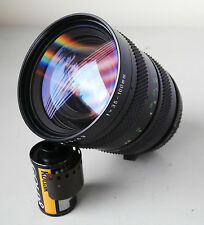 Chinon 35-100mm f3.5-4.3 Multi Coated Close Focus Zoom Lens in Pentax PK Mount