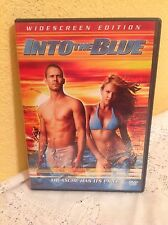 INTO THE BLUE DVD 2005 ACTION THRILLER MOVIE PAUL WALKER JESSICA ALBA