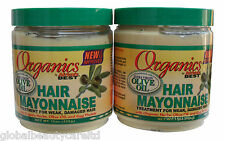 2 x Africa's Best Hair Mayonnaise Formulated With Extra Virgin Olive Oil