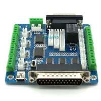 USB 5 Axis CNC Breakout Board Interface Adapter for Stepper Motor Driver pump