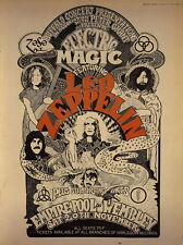 """MX11150 Led Zeppelin - English Rock Band Music Star 14""""x19"""" Poster"""
