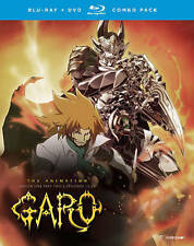 Garo the Animation: Season 1, Part 2 (Blu-ray + DVD , 2016, 4-Disc w/ slipCover)