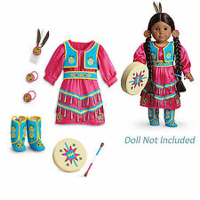 "American Girl KAYA JINGLE DRESS OF TODAY Outfit for 18"" Dolls Tribal NEW RETIRED"