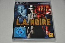 PlayStation 3 juego-l.a. noire-Rockstar Games Action-alemán completo ps3