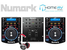 Numark DJ Bundle - 2 x ndx500 + m101usb MIXER + hf150 Cuffie da DJ CD USB mp3