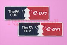 FA Cup e-on 2007 - 2011 Sleeve Soccer Patch / Badge