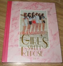 APINK 1st Photobook GIRL'S SWEET REPOSE L.E PHOTO BOOK + PHOTOCARD + POSTER NEW