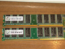 Transcend 2x1GB DDR400  PC3200 DIMM Memory (Tested)