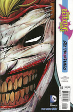 BATMAN DETECTIVE #15 Death of the Family - Die-Cut Facemask Cover - DC New 52