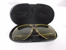 Vintage Carrera Porsche Men's Fashion Sunglasses Original Brass Frame SHTN7248