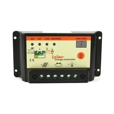 10A PWM Solar Panel LED Battery Charge Charger Controller Regulator 12V 24V