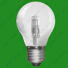 10x 70W Clear Dimmable Halogen GLS Energy Saving Light Bulb, ES E27 Screw Lamps
