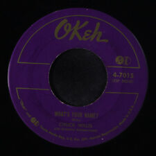 CHUCK WILLIS: What's Your Name? / You're Still My Baby 45 (sm tol) Blues & R&B