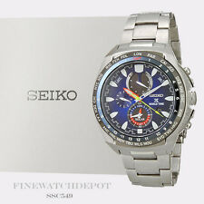 Authentic Seiko Men's Prospex Chronograph Kojiro Shiraishi Watch SSC549