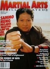 4/99 MARTIAL ARTS ILLUSTRATED W. OMEGA SAMMO HUNG BLACK BELT KARATE KUNG FU