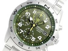 Seiko Men's Chronograph 100m Watch SND377P1 Warranty, Box, RRP:£180