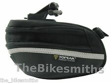 Topeak Wedge Pack II Large Bike Seat saddle Bag Pack TC2273B Clip-on w/ cover