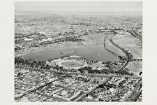 South Melbourne ALBERT PARK LAKE Lakeside Oval 1954 modern digital Postcard