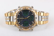 FOSSIL SPECIAL EDITION CHRONOMASTER ALARM 3ATM CH2236 TWO-TONE WRISTWATCH  7889