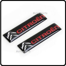 2x Citroen Car Badge Emblem Decal Logo Sticker Door Side Rear Boot Trunk Sport95