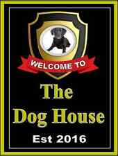 The dog house Pub sign, Home Bar, homebrew, Bar Sign,Plaque  Free Postage