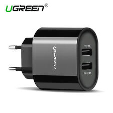 Ugreen USB Power AC Wall Charger Adapter EU Plug for phoneTablet Samsung HTC LG
