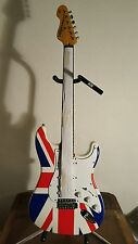 Vintage V6JMH-UK 'Union Jack' Electric Guitar UN IO NJ 01