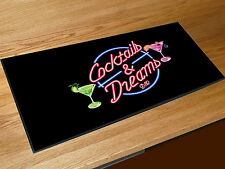Cocktails & Dreams bar runner home bar counter mat Pubs Clubs & Cocktail Bars
