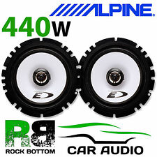 "ALPINE FORD FOCUS 5DR 04 On 6.5"" 16cm 2 Way 440W Car Coaxial Front Door Speakers"