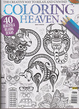 COLOURING HEAVEN MAGAZINE #6, THE CREATIVE WAY TO RELAX & UNWIND.
