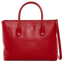 New With Tag Furla Josi Medium Leather Tote Color: Cabernet New With Tag $378