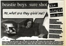 ARTICLE - ADVERT 19/11/94PGN48 BEASTIE BOYS : SURE SHOT 7X11""