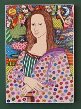 JAMES RIZZI THE MONA LISA POP ART NEW YORK AMERIKA POSTER AUF PLATTE 35