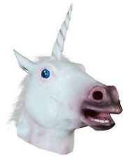 Vogue Halloween Unicorn Horse Head Cosplay Costume Party Latex Prop Animal Masks
